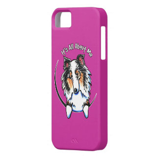 Blue Merle Sheltie Shetland Sheepdog IAAM iPhone SE/5/5s Case