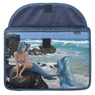 Blue Mermaid Macbook pro sleeve
