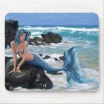 Blue Mermaid Mouse Pad Mousepads
