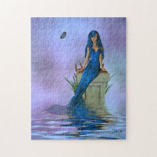 Blue Mermaid Puzzle