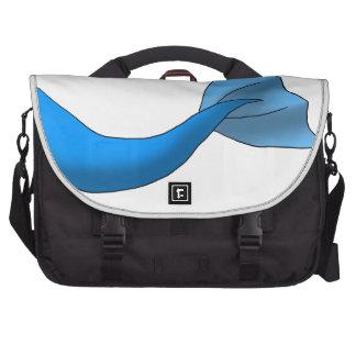 Blue Mermaid Tail Commuter Bag