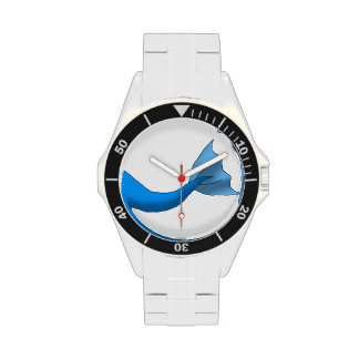 Blue Mermaid Tail Wristwatches