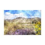 Blue Mesa Area Colorado Artwork Canvas Canvas Print