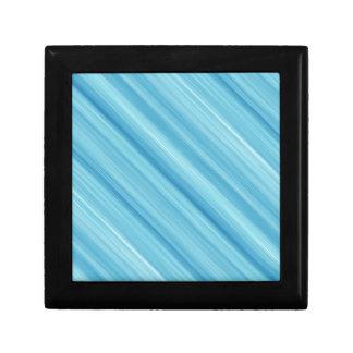 Blue metal background keepsake box