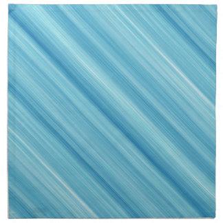 Blue metal background napkin