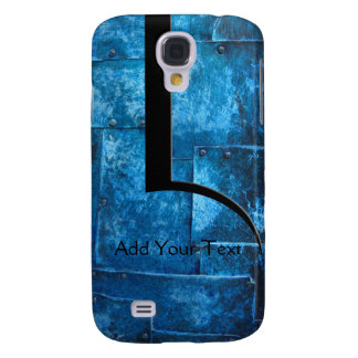 Blue Metal Plates Galaxy S4 Cover