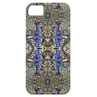 Blue Metal Shavings iPhone SE/5/5s Case