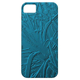 Blue Metallic Air Plant Relief iPhone 5 Covers