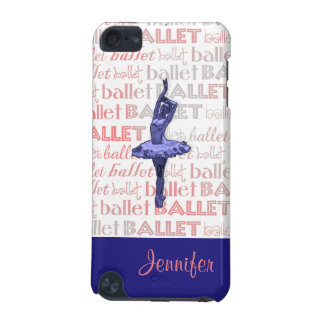 Blue Metallic Ballerina iPod Touch (5th Generation) Cover