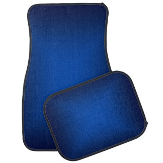 Blue Metallic Car Mats