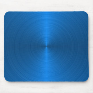Blue Metallic Style Mouse Pad
