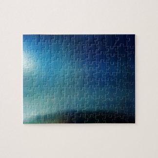 Blue Metalline Sheen Jigsaw Puzzles