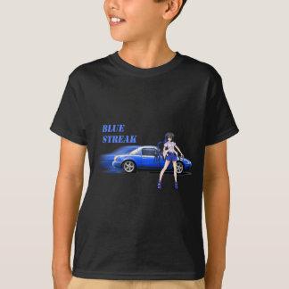 Blue Miata - with anime girl T-Shirt