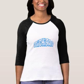 Blue Michigan T Shirts