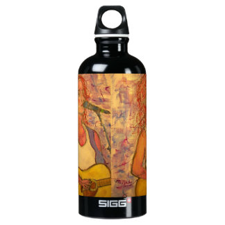 blue microphone songstress aluminum water bottle