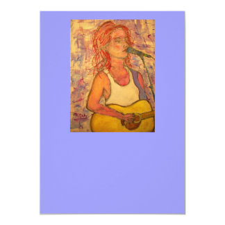 blue microphone songstress card