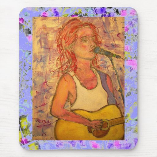 blue microphone songstress drip mouse pad