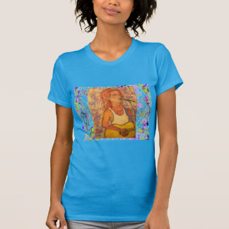 blue microphone songstress drip t shirts