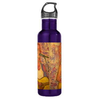 blue microphone songstress stainless steel water bottle