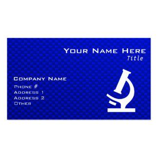 Blue Microscope Business Card