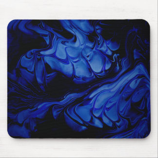 Blue Midnight Mouse Pad