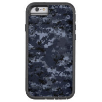 Blue Military Camo Xtreme Tough iPhone 6/6s Cover