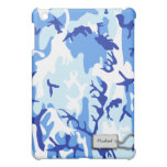 Blue Military Camouflage Case For The iPad Mini