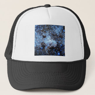 Blue Milky Way Galaxy Trucker Hat