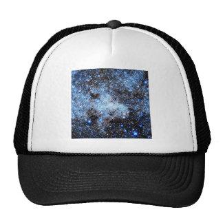 Blue Milky Way Galaxy Trucker Hat