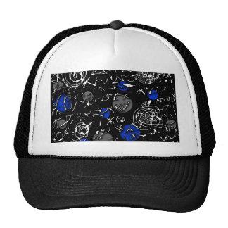 Blue mind trucker hat