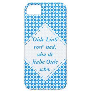 Blue mini Mali table knows iPhone SE/5/5s Case