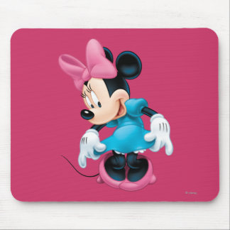 Blue Minnie   Curtseying Mouse Pad