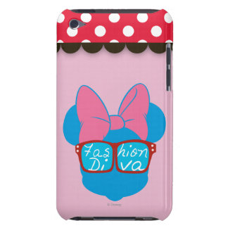 Blue Minnie | Diva Red Sunglasses Case-Mate iPod Touch Case