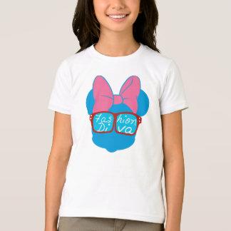 Blue Minnie | Diva Red Sunglasses T-Shirt