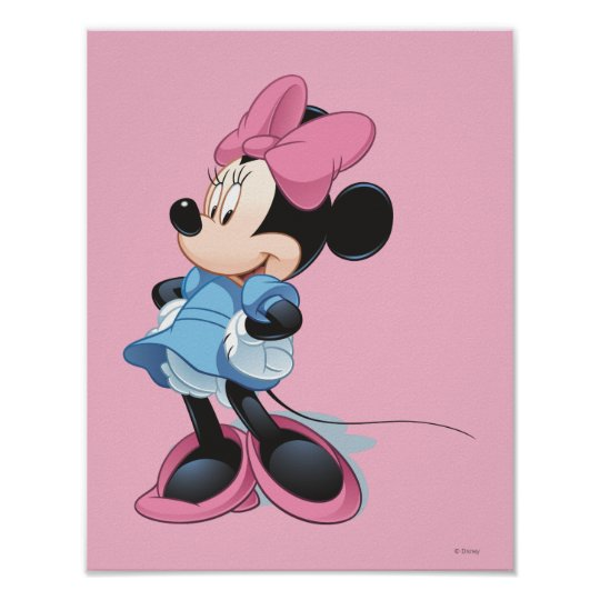 Blue Minnie | Hands on Hips Poster