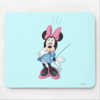 Blue Minnie   Surprised Mouse Pad