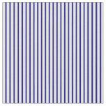 [ Thumbnail: Blue & Mint Cream Pattern of Stripes Fabric ]
