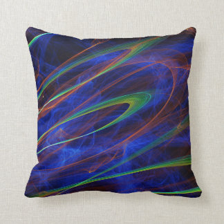 Blue Mist Throw Pillows