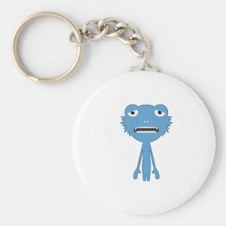 Blue Mnstr Keychain