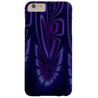 Blue Modern Abstract Barely There iPhone 6 Plus Case