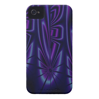 Blue Modern Abstract iPhone 4 Case