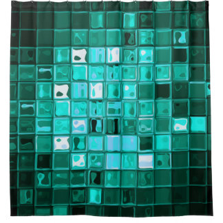 Modern Abstract Shower Curtains | Zazzle