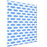 Blue Modern Oval at Emporiomoffa Stretched Canvas Prints