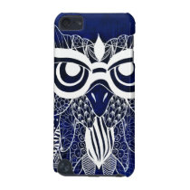 Blue Modern Owl iPod Touch 5G Case