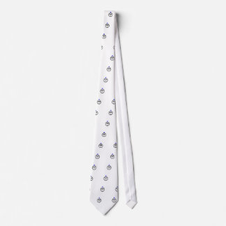 Blue Mohawk Neck Tie
