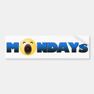 Blue Mondays Bumper Stickers