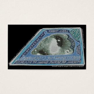 Blue Money-19.5 CYDONIANS-Martian Money Business Card