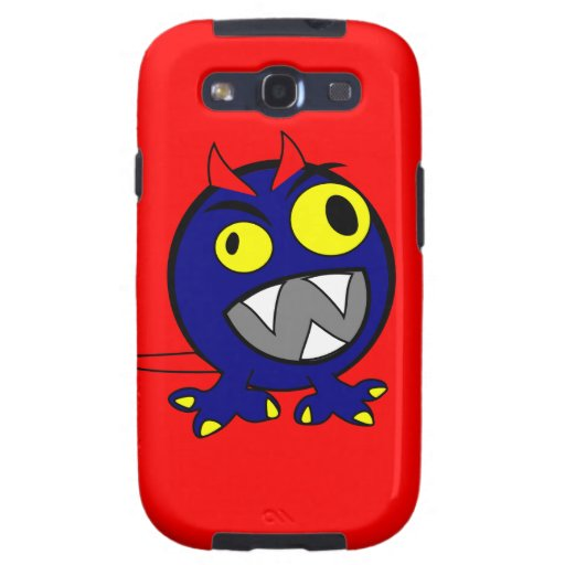 blue-monhi galaxy s3 cases