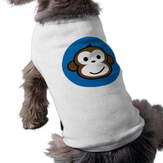 blue monkey tee