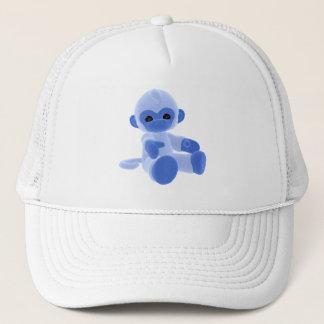Blue Monkey Trucker Hat